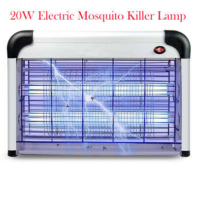 Powerful Electric UV Fly insect Wasp Killer Pest Zap Control Bug Zapper Trap