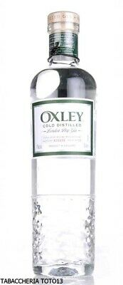 Gin Oxley Cold Distilled Vol.47% Cl.70 Super premium 'London Dry Gin'