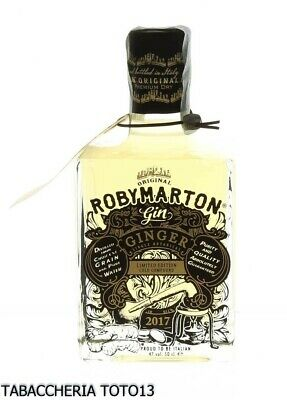Roby Marton Ginger gin single botanical Zenzero Vol.47% Cl.50