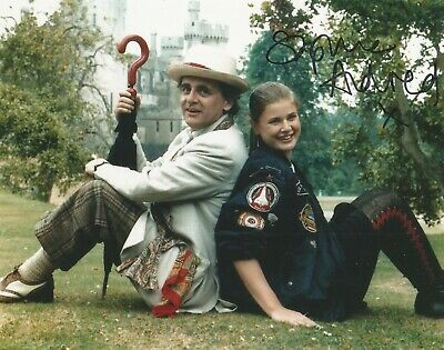 Dr Who Assistant Sophie Aldred hand signed photo with UACC COA