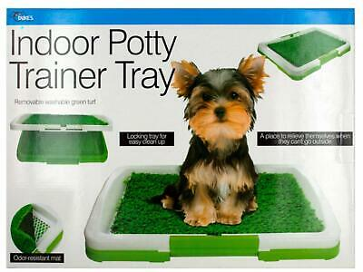 Dukes Potty Trainer Dog Pad Indoor FREE 2 Pack Training Pads Indoor Potty Tray