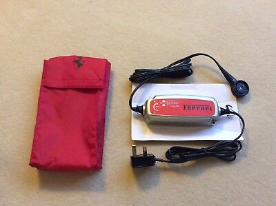 Ferrari Battery Conditioner Charger in Pouch California,magnetic *NEW* UK