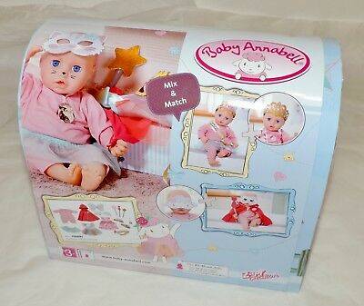 NEW Baby Annabell MIX & MATCH Dress-Up Set (700693) with 15 Accessories