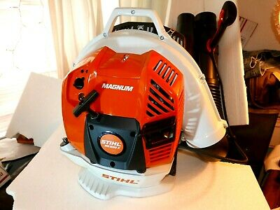 STIHL BR600 MAGNUM Commercial Backpack Blower / RUNS GREAT