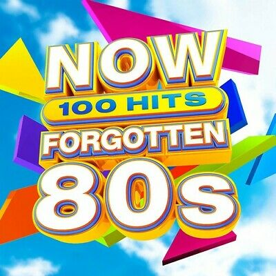 Now 100 Hits Forgotten 80s - 5 DISC SET - Various Artist (2019, CD NUOVO)