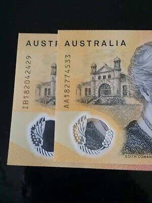 Rare New 2018 Aa First Prefix $50 Note With Spelling Error Mint Condition Rare.