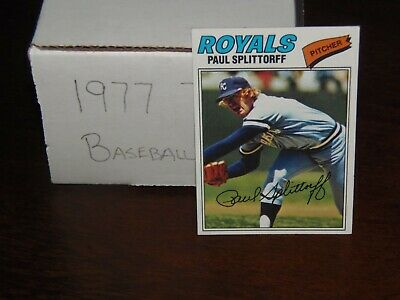 1977 Topps Baseball Card Set Lot (You Pick 20) Nice Condition Fill Your Set NOW!