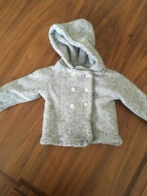 Country road Grey Baby Coat Size 6-12 Mths