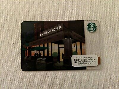 City Nights/ Twilight, 2011 - Collectible Starbucks Gift Card