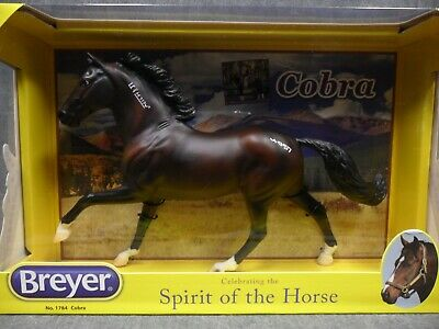 Breyer NEW * Cobra * 1784 Flash Retired Mustang Traditional Model Horse