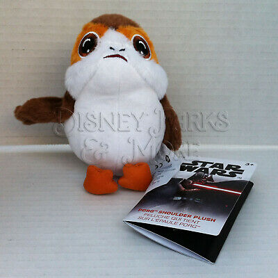 Disney Parks Star Wars The Last Jedi Galaxy's Edge Shoulder Porg Plush Cosplay