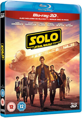 Solo: A Star Wars Story 3D (Blu-ray 3D + Blu-ray) *NEW*