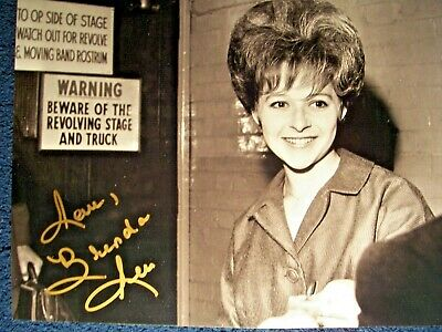 BRENDA LEE 'Little Miss Dynamite' Signed Autographed Picture RARE