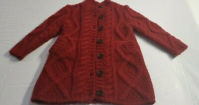 Bonpoint, Girls Wool/Cashmere Blend Cardigan, Size Age 3,
