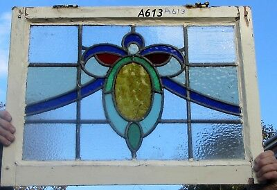A613 Ca 1900s Stained glass