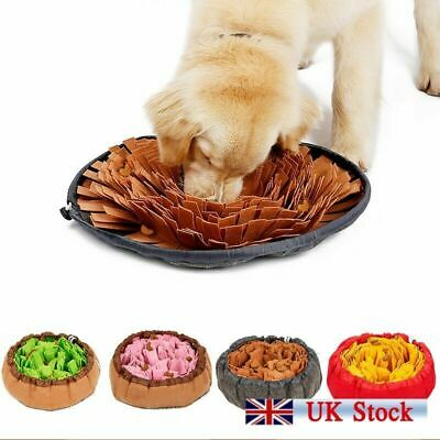 Snuffle Mat Dog Pet Toy Nose Work Washable Training Game Sniffing Puzzle Fun