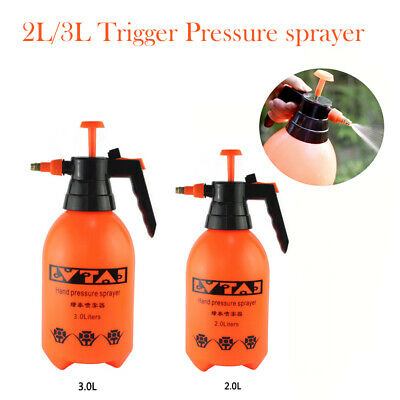 2L/3L Pressure Sprayer Pump Action Watering Garden Weedkiller Hand Spray Bottle