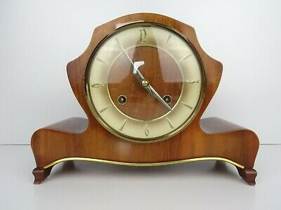 WUBA Warmink Dutch Vintage Retro Antique Mantel Shelf Clock (Hermle Kienzle era)