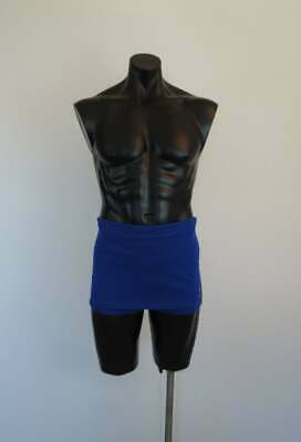 Mens Blue Nylon Swimsuit by Morley - 1950s