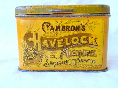 Old Cameron's Havelock Mixture Tobacco Tin 4 ozs