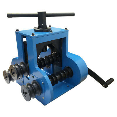 Manual Pipe Tube Roller Bender Rolling Tubing Round Flat Square Bending Steel