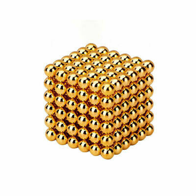 216 Pcs 5mm Magic Magnets Ball Neodymium Sphere 3D Puzzle Cube Stress Relief