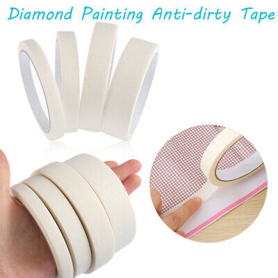 New Anti-dirty Tape 5D Diamond Painting Tools Adhesive Edges Sticker Accessories
