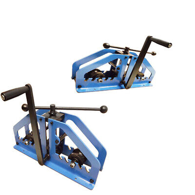 Manual Tube Pipe Roller Bender Bending Square Round Flats Fabrication Mild Steel