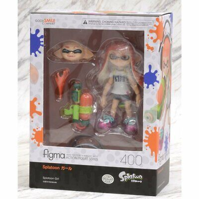Good Smile Figma 400 Splatoon Girl Action Figure