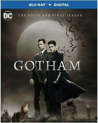 GOTHAM  : SEASON 5  - Blu Ray - Sealed Region free