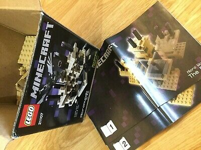 Lego Minecraft Micro World 21102 Used In Box Including