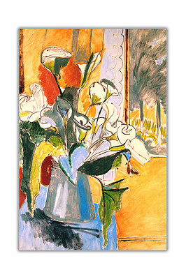Bouquet Of Flowers By Matisse Henri Abstract Wall Decoration Poster Prints