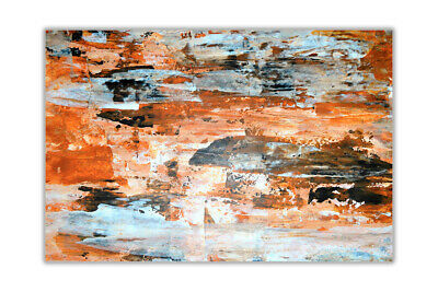 Brown and red abstract Wall Posters Art Prints Home Decoration Artwork