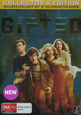 The Gifted Complete First Season Collector's Edition DVD NEW Region 4