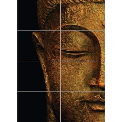 24x36 SHRINK WRAPPED RELIGIOUS INSPIRATIONAL 33364 GOLD BUDDHA POSTER