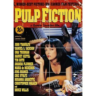Pulp Fiction Classic Cult Film Giant Wall Mural Art Poster Print 33x47 Inches