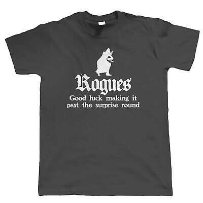Rogues, Mens T-Shirt - Hobbies DND Dungeons Dragons Geek Gift Him Dad