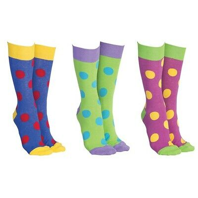 Sock Society Novelty funky Big Spots   colourful ankle socks one size fits all