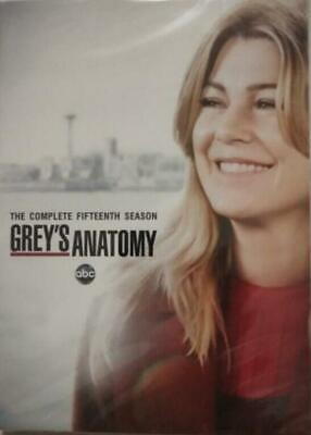 2019.DVD, brand new Free shipping Grey's Anatomy Season 15