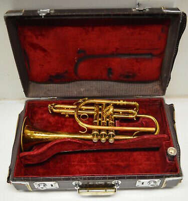 1962 King Master Cornet By Hn White (Cleveland, Oh Plant) Original Case