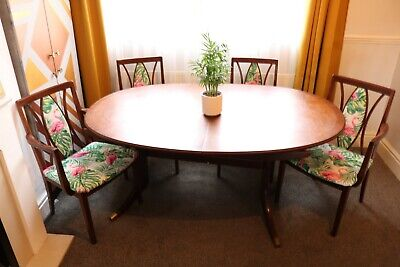 """Old Charm"""" dining room table and 4 chairs"""