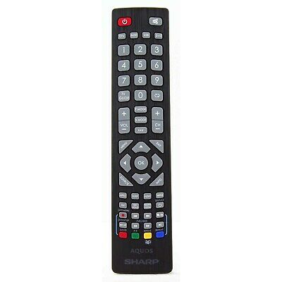 "Genuine Remote Control for TV Sharp LC43CFE4142 LC-43CFE4142 43"" Full HD LED TV"