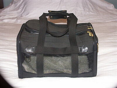 Sherpa Bag Black Pet Travel Bag Cat Dog Airline Carrier