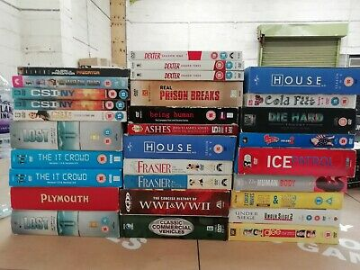 Job Lot Approx 347 Boxsets DVDs - Online Sellers - Wholesale - Free UK Postage