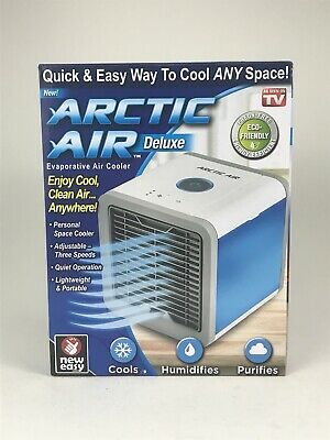 Arctic Air Deluxe Evaporative Air Cooler,Personal Space Cooler,As Seen On T.V