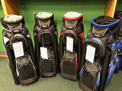 premium 14-way Full Length Divider Golf Bag with Cooler Pocket  Revelation