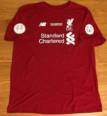 Liverpool UCL Champions 2019 Shirt