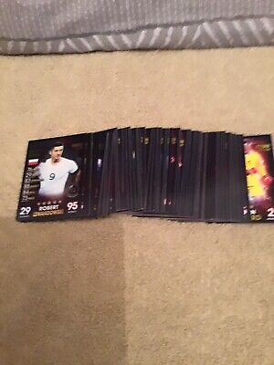 2019 Topps Match Attax 101 Joblot Of 74 Cards No Duplactes