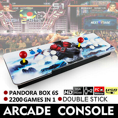 New Pandora Box 9s 2200 in 1 Retro Video Games Double Stick Arcade Console Gifts