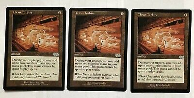 MTG URZA'S SAGA uncommon THRAN TURBINE x1 LP (3 Available)